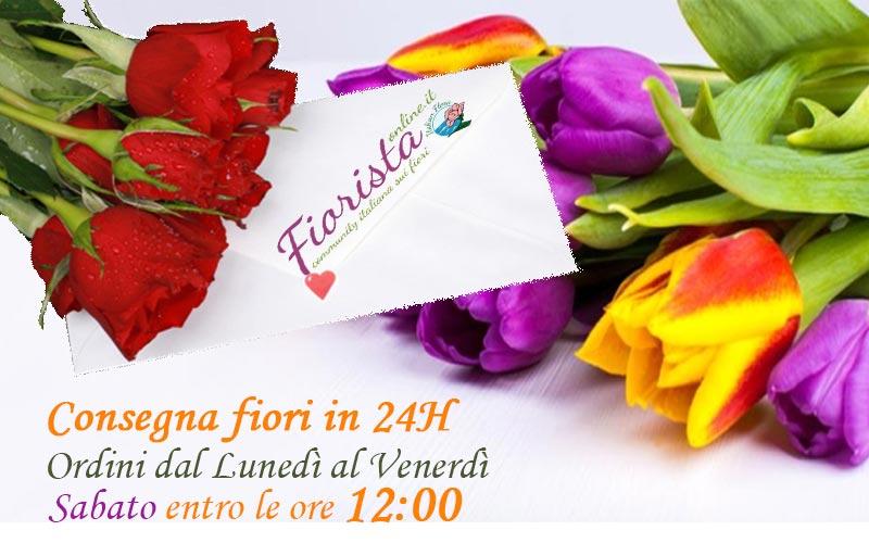Consegna dei fiori a domicilio: un servizio pratico e puntuale